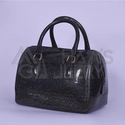 Glitter Satchel Hand Bag