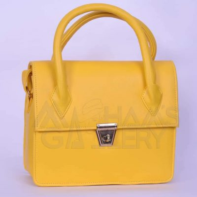Long Strap Leather Hand Bag