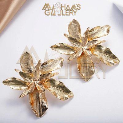 Flower Dangled Earrings